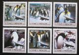 Poštovní známky Svatý Tomáš 2003 Tučňáci Mi# 2055-60 Kat 10€