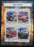 Poštovní známky Sierra Leone 2016 Hasičská auta Mi# 7873-76 Kat 11€