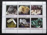 Poštovní známky Guinea-Bissau 2003 Minerály Mi# 2213-18 Kat 11€