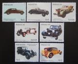 Poštovní známky Paraguay 1986 Historická auta Maybach Mi# 3987-93
