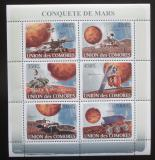 Poštovní známky Komory 2008 Průzkum Marsu Mi# 1946-51 Kat 13€