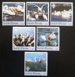 Poštovní známky Guinea-Bissau 2003 Pelikáni Mi# 2464-69 Kat 11€