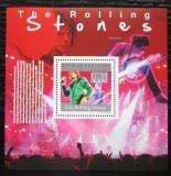 Poštovní známka Guinea 2010 The Rolling Stones Mi# Block 1814 Kat 10€