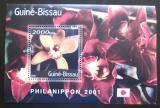 Poštovní známka Guinea-Bissau 2001 Orchideje Mi# Block 328 Kat 8.50€