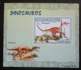Poštovní známka Mosambik 2007 Dinosauři DELUXE neperf. Mi# 2967 B Block