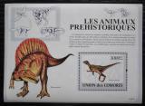 Poštovní známka Komory 2009 Dinosauři Mi# Block 482 Kat 15€