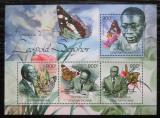 Poštovní známky SAR 2012 Motýli, Léopold Sédar Senghor Mi# 3727-30 Kat 16€