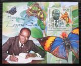 Poštovní známka SAR 2012 Motýli, Léopold Sédar Senghor Mi# Block 962 Kat 14€