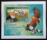 Poštovní známka Guinea-Bissau 2007 John Gould, ornitolog Mi# 3473 Block
