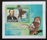 Poštovní známka Guinea-Bissau 2007 Spencer F. Baird, ornitolog Mi# 3474 Block