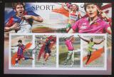 Poštovní známky Burundi 2012 Sportovní legendy neperf. Mi# 2300-03 B