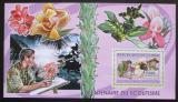 Poštovní známka Guinea 2006 Orchideje, skauting Mi# Block 1026 Kat 7€