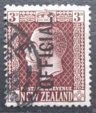 Poštovní známka Nový Zéland 1919 Král Jiří V. úřední Mi# 26 A