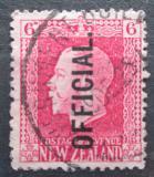 Poštovní známka Nový Zéland 1916 Král Jiří V. úřední Mi# 27 A