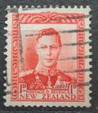 Poštovní známka Nový Zéland 1938 Král Jiří VI. Mi# 238
