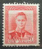 Poštovní známka Nový Zéland 1944 Král Jiří VI. Mi# 241