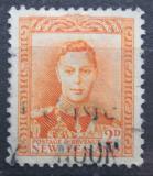Poštovní známka Nový Zéland 1947 Král Jiří VI. Mi# 242