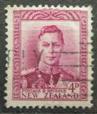 Poštovní známka Nový Zéland 1947 Král Jiří VI. Mi# 244
