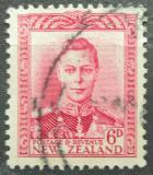 Poštovní známka Nový Zéland 1947 Král Jiří VI. Mi# 246