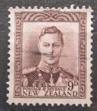 Poštovní známka Nový Zéland 1947 Král Jiří VI. Mi# 248