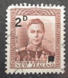 Poštovní známka Nový Zéland 1941 Král Jiří VI. přetisk Mi# 269