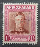 Poštovní známka Nový Zéland 1947 Král Jiří VI. Mi# 295