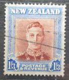 Poštovní známka Nový Zéland 1947 Král Jiří VI. Mi# 296 IIX