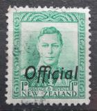 Poštovní známka Nový Zéland 1941 Král Jiří VI. úřední Mi# 55