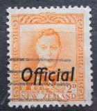 Poštovní známka Nový Zéland 1947 Král Jiří VI. úřední Mi# 71