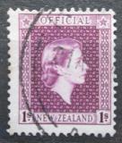 Poštovní známka Nový Zéland 1954 Královna Alžběta II. úřední Mi# 85