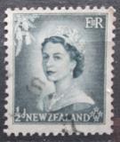 Poštovní známka Nový Zéland 1954 Královna Alžběta II. Mi# 332