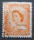 Poštovní známka Nový Zéland 1954 Královna Alžběta II. Mi# 333
