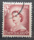 Poštovní známka Nový Zéland 1953 Královna Alžběta II. Mi# 334