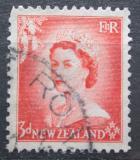 Poštovní známka Nový Zéland 1954 Královna Alžběta II. Mi# 336