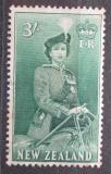 Poštovní známka Nový Zéland 1954 Královna Alžběta II. Mi# 343
