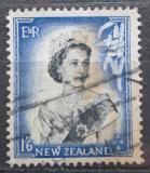 Poštovní známka Nový Zéland 1954 Královna Alžběta II. Mi# 342