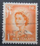 Poštovní známka Nový Zéland 1956 Královna Alžběta II. Mi# 354