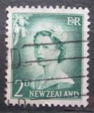Poštovní známka Nový Zéland 1956 Královna Alžběta II. Mi# 356