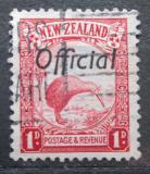 Poštovní známka Nový Zéland 1936 Kivi jižní, úřední Mi# 36 A