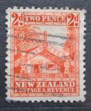 Poštovní známka Nový Zéland 1935 Tradiční dům Maorů Mi# 192
