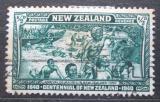 Poštovní známka Nový Zéland 1940 Příchod Maorů na ostrovy Mi# 253