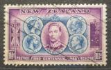 Poštovní známka Nový Zéland 1940 Králové Mi# 255