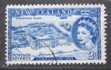 Poštovní známka Nový Zéland 1953 Buckinghamský palác v Londýně Mi# 322