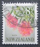 Poštovní známka Nový Zéland 1960 Metrosideros fulgens Mi# 400
