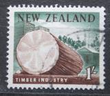 Poštovní známka Nový Zéland 1960 Dřevařský průmysl Mi# 402