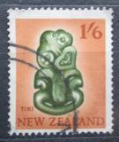 Poštovní známka Nový Zéland 1960 Tiki amulet Mi# 404