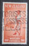 Poštovní známka Nový Zéland 1960 Zlatokop Mi# 390