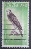 Poštovní známka Nový Zéland 1961 Ostříž novozélandský Mi# 417