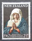 Poštovní známka Nový Zéland 1962 Vánoce, umění, Giovanni Battista Salvi Mi# 424