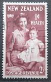 Poštovní známka Nový Zéland 1950 Princezna Alžběta a princ Charles Mi# 311